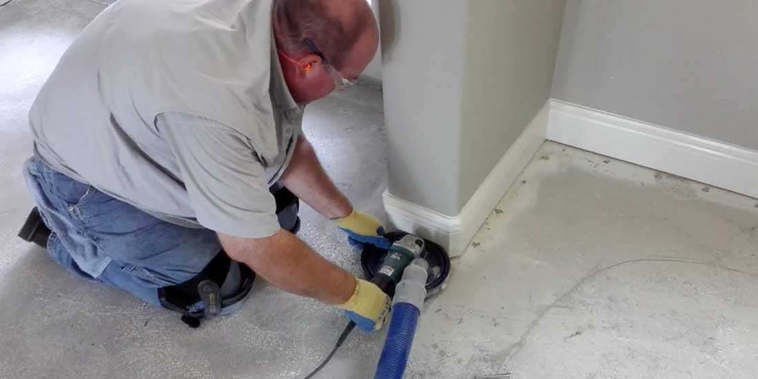 Tile Removal Dustless Floor Central Florida DustFree Tile Removal - Cleaning dust after tile removal