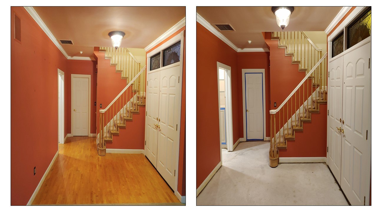Glue Down Wood Floor Removal Gallery Central Florida Dust Free Tile Removal Llc