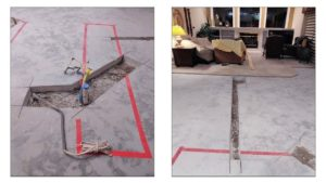 CFL Dust-Free Tile Removal Low Dust Concrete Cutting and Trenching